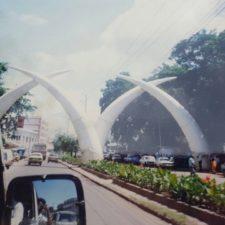 Entering mombasa kenya