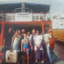Ferry in Grenadines