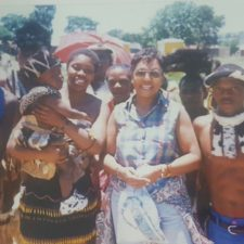 With a Zulu Family